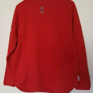 Los Angeles Angels Majestic Therma Base Pullover